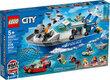 Lego City Police Patrol Boat 276Pcs/Pzs (5+Age/Edages) 60277