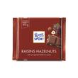 Ritter Sport Chocolate Raisin & Hazelnut 100 Grams