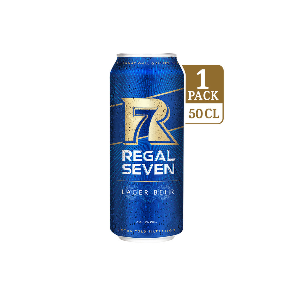 Regal Seven Lager Beer 500 ML