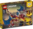 Lego Creator Fire Dragon 234Pcs/Pzs (7+Age/Edages) 31102