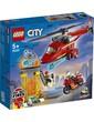 Lego City Fire Rescue Helicopter 212Pcs/Pzs (5+Age/Edages) 60281