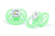 Pur Ventilated Symmetric Silicone Soother  : 0-6 Months (14043)(Assorted Color:Green/Pink )