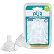 Pur Classic Wide Neck Nipple Size M - 2Pk (3256)