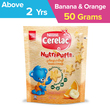 Nestle Cerelac Nutripuffs Banana&Orange 50G