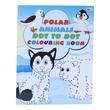 Polar Animals Dot To Dot Colouring Book