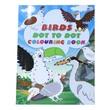 Birds Dot To Dot Colouring Book