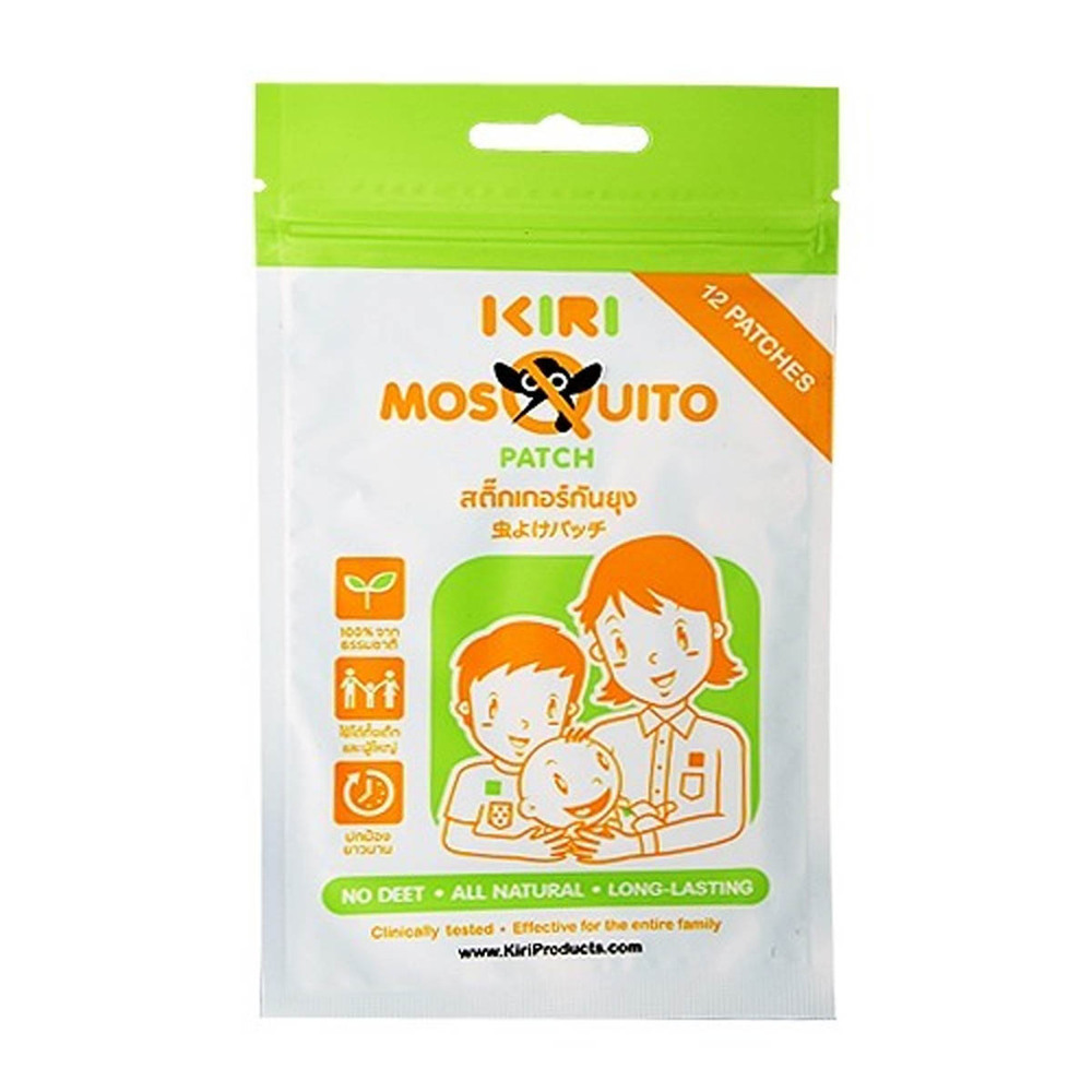 Kiri Mosquito Patch 12`S