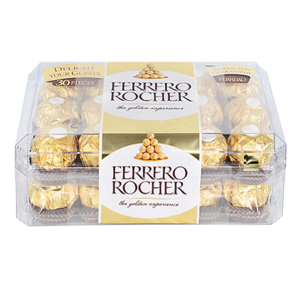 Ferrero Rocher Chocolate Hazelnut T-30 375 Grams