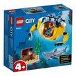 Lego City Ocean Mini-Submarine 41Pcs/Pzs (4+Age/Edages) 60263