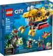 Lego City Ocean Exploration Submarine 286Pcs/Pzs (5+Age/Edages) 60264