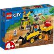 Lego City Great Vehicles Construction Bulldozer 126Pcs/Pzs (4+Age/Edages) 60252