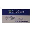 City Care Alcohol Towel 20X20Cm 30Pcs