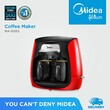 Midea Coffee Maker MAD202-R