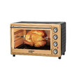 Wonder Home Rotisserie & Covention Electric Oven 45 Liter 2000W WH-O-45G Gold