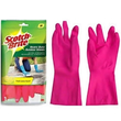 3M Scotch Brite Rubber Gloves 2`S Hvy Duty (M)
