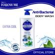 Follow Me Anti-Bacte Extra Cool Body Wash 1000Ml
