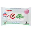 Pigeon Anti-Mosquito Wet Tissue 12 pcs No.26236