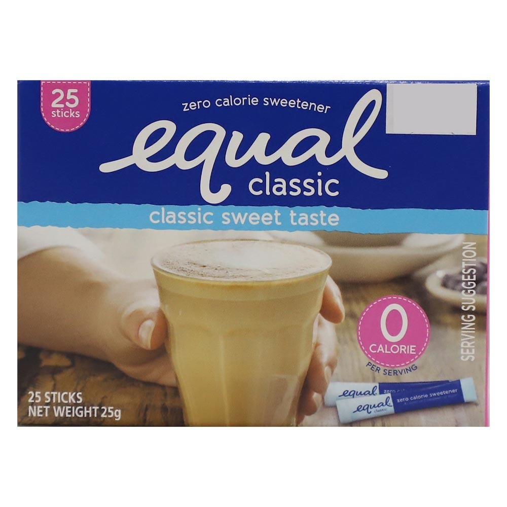 Equal Sweetener Sachets 25 Pieces (25 Grams)