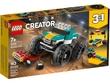 Lego Creator Monster Truck 163Pcs/Pzs (7+Age/Edages) 31101