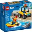 Lego City Great Vehicles Beach Rescue Atv 79Pcs/Pzs (5+Age/Edages) 60286